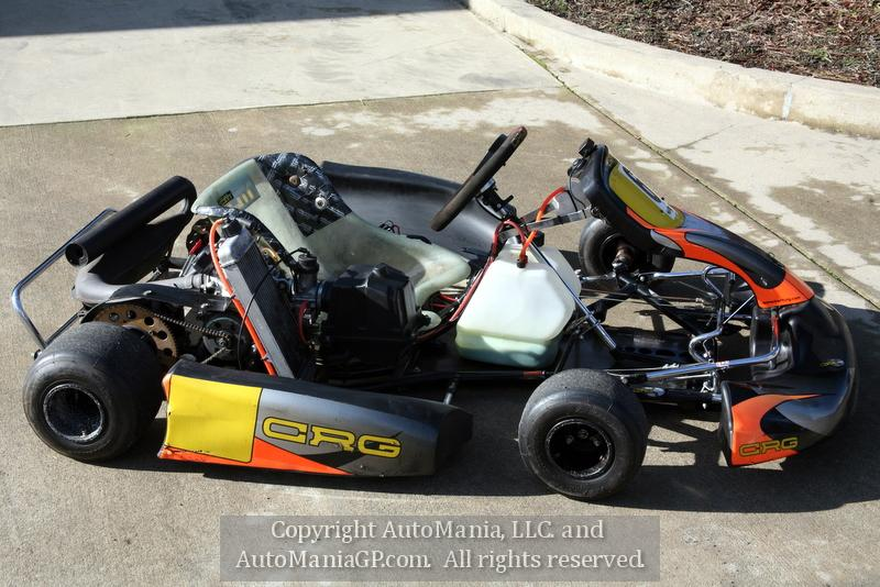 Crg kart with tag motor for sale in grants pass oregon for Motor go kart for sale