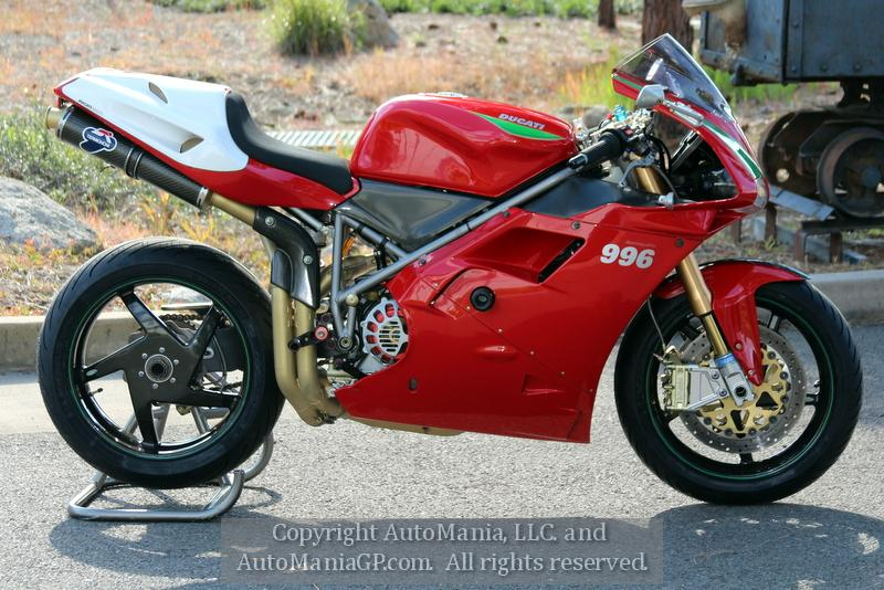 2001 ducati 996 sps for sale in grants pass oregon 97526. Black Bedroom Furniture Sets. Home Design Ideas