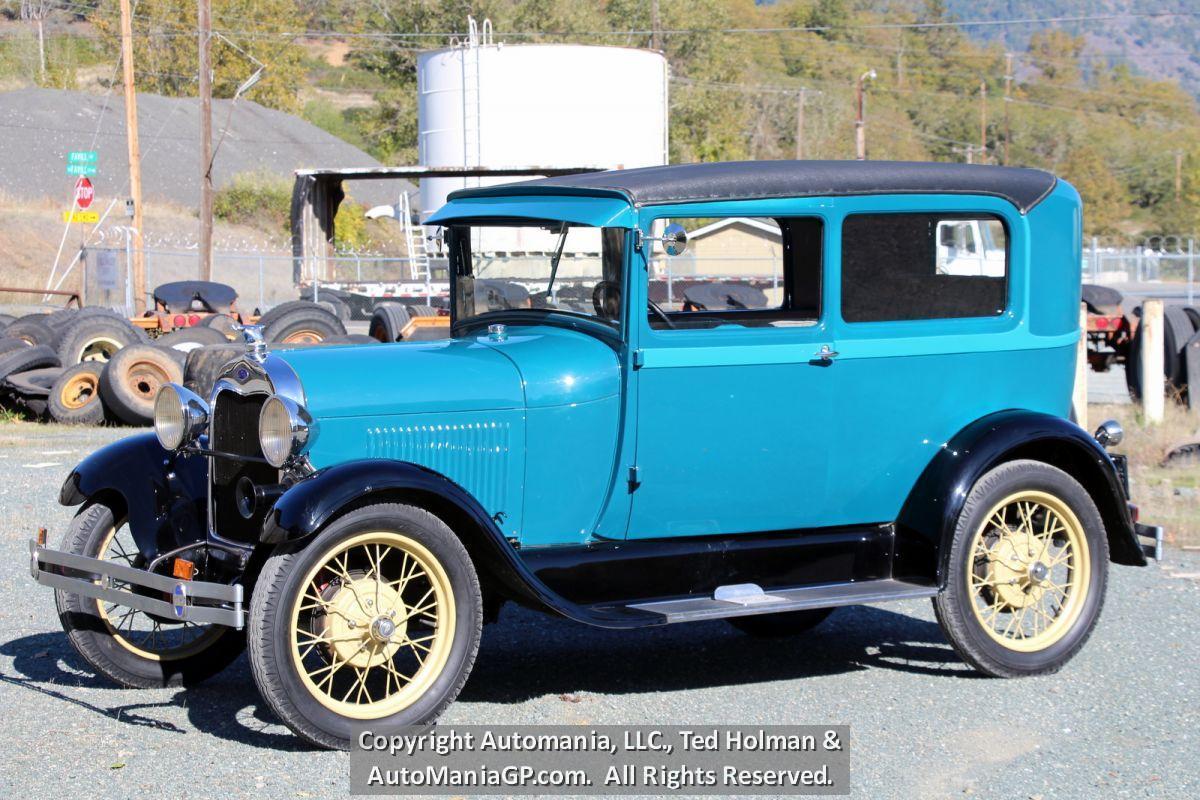 1928 Ford Model A Tudor Sedan For Sale Classic Car For Sale