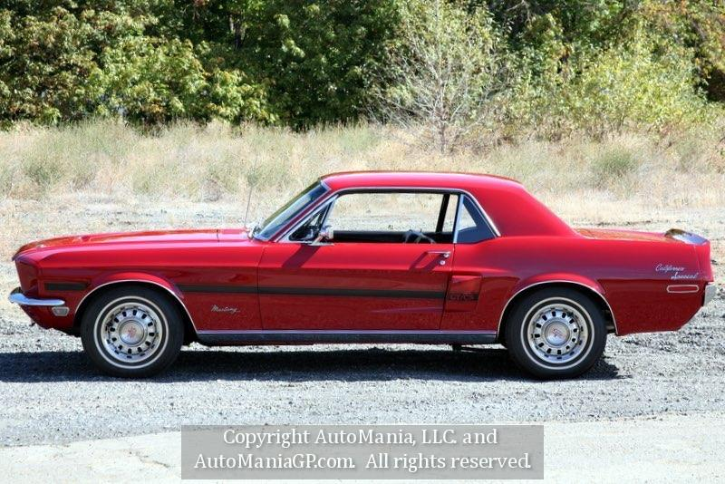 1968 ford mustang gt california special for sale in grants. Black Bedroom Furniture Sets. Home Design Ideas