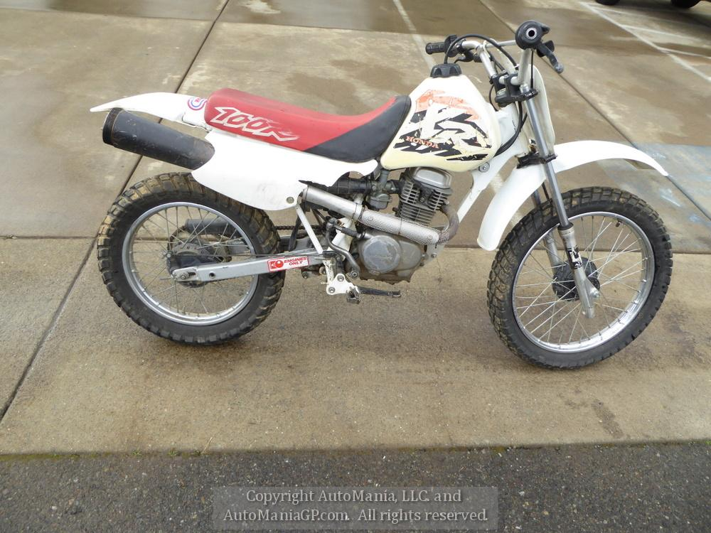 1997 Honda Xr100r For Sale In Grants Pass Oregon 97526 Motorcycle For Sale