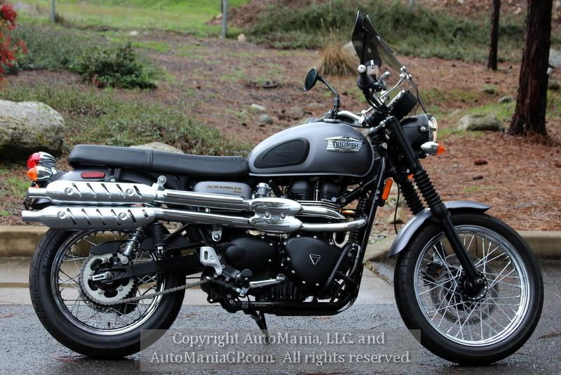 2013 Triumph Bonneville Scrambler for sale