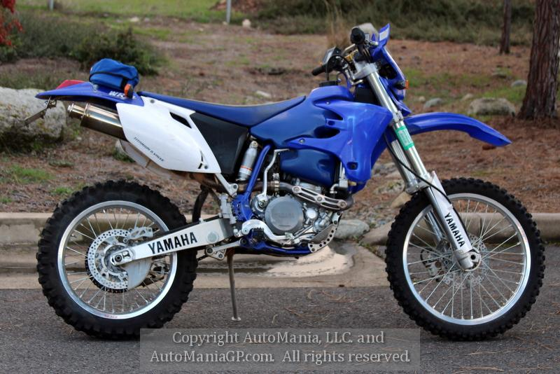 2003 Yamaha WR450F for sale
