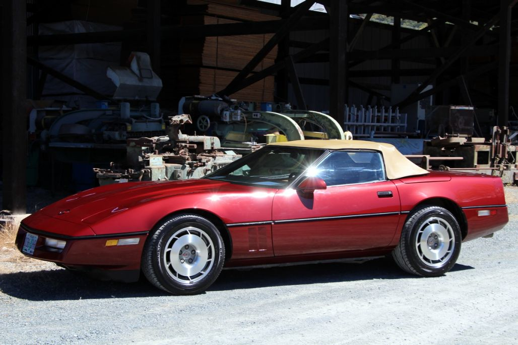 1987 Chevrolet Corvette Convertible for sale