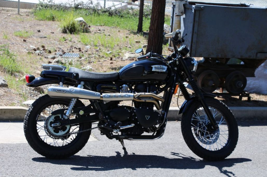 2015 Triumph Scrambler for sale