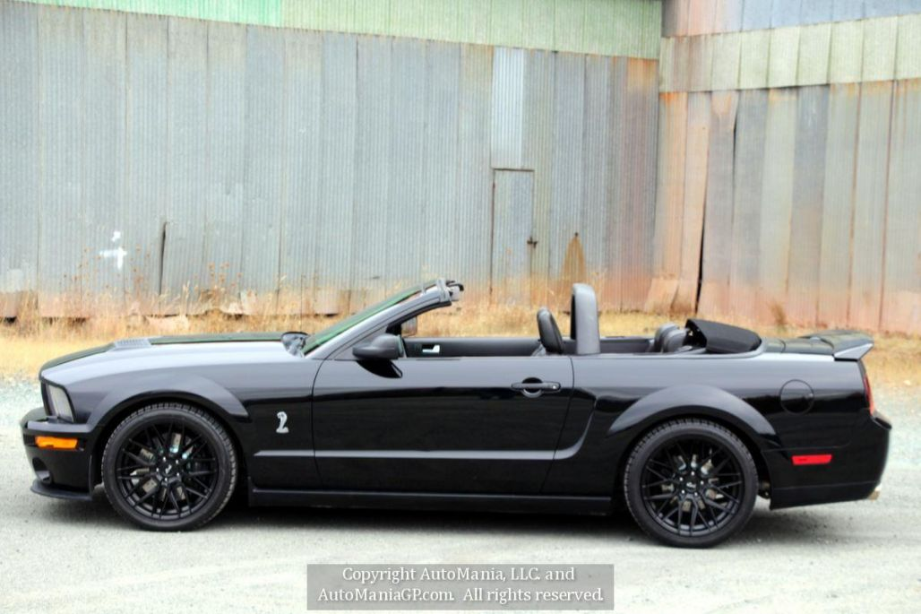 2007 Ford Mustang Shelby GT500 Convertible for sale